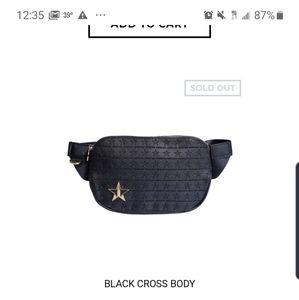 Jeffree Star Black Cross Body bag